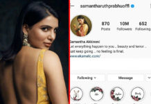 Samantha @ 10 Million, First South actress