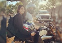 Samantha, Naga Chaitanya bike ride