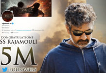 Scale new heights! Rajamouli earns 5 Million followers on Twitter