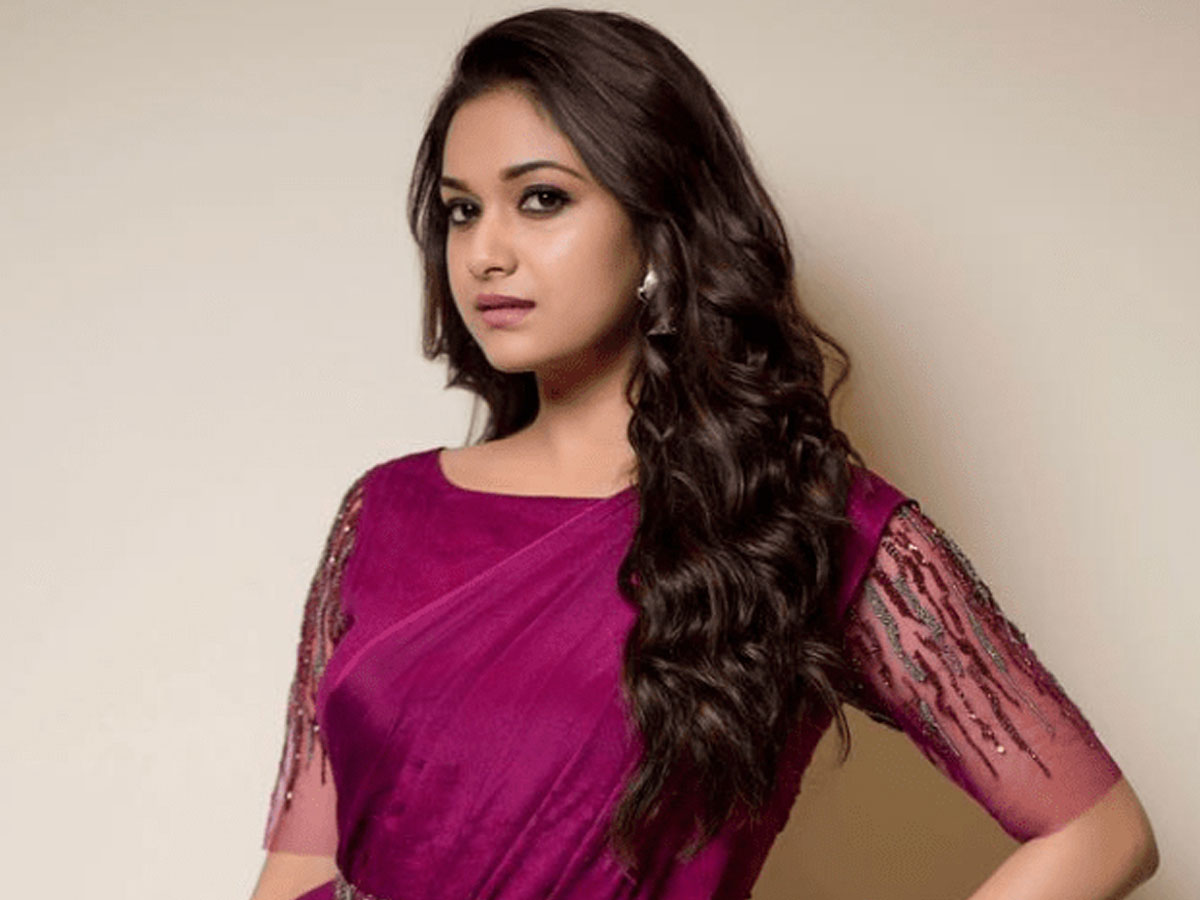 Sudden support for Keerthy Suresh