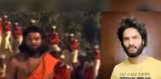Sudheer Babu fan boy tribute to Superstar Krishna