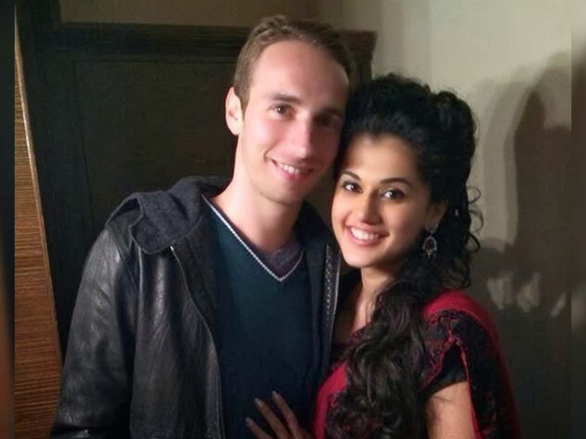 Taapsee Pannu exposes her relationship with Boyfriend