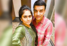 Dil Raju intimate pose with new wife