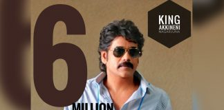 6 Million Twitter Followers for Nagarjuna
