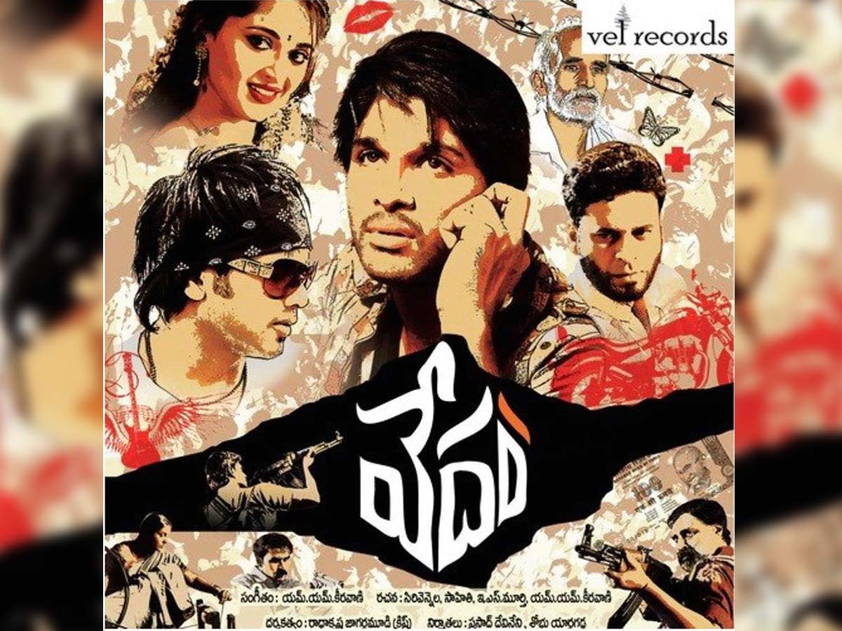 Allu Arjun celebrates decade of Vedam