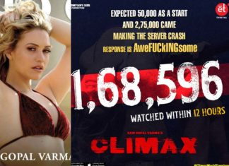 Climax First Day Collections Report