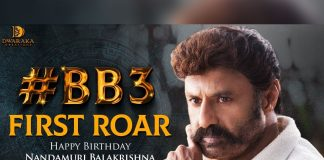 First Roar of BB3: Balakrishna roar in his style