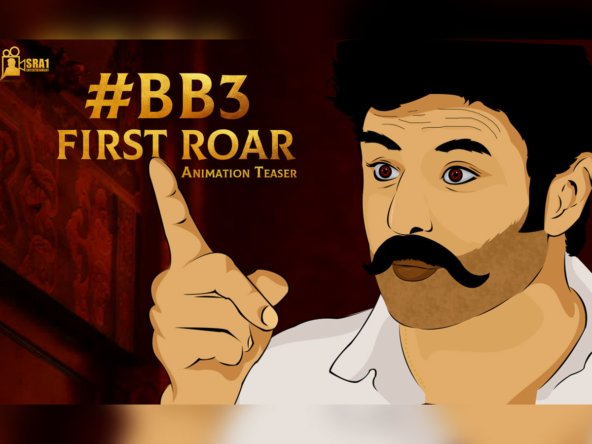 Great matching to every bit: BB3 First Roar - Animation Teaser