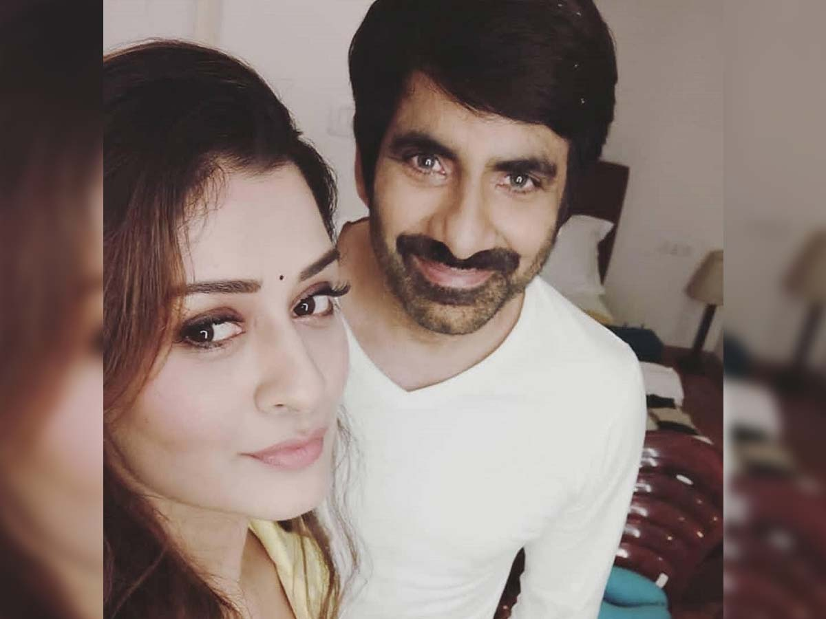 Payal Rajput Special song in Ravi Teja film?