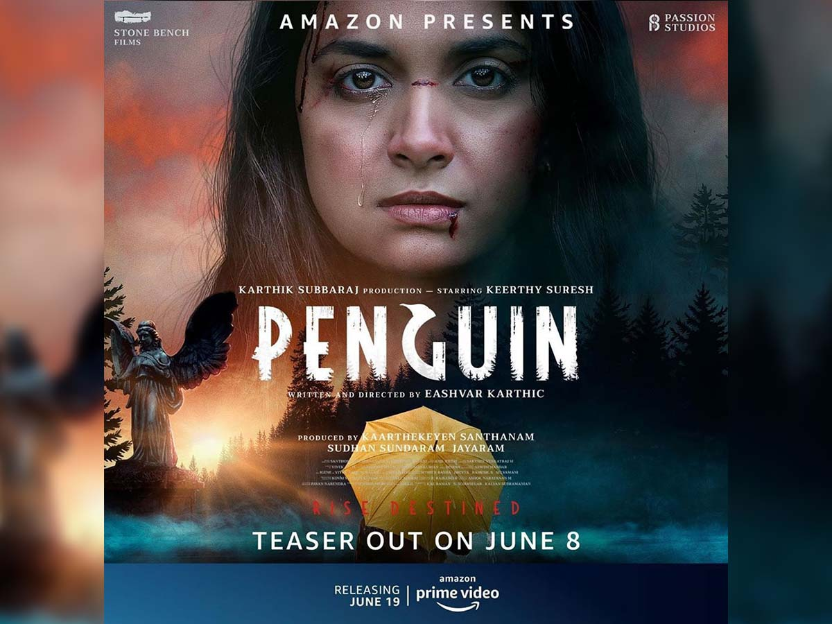 Penguin First Look: Wounded Keerthy Suresh looks fierce