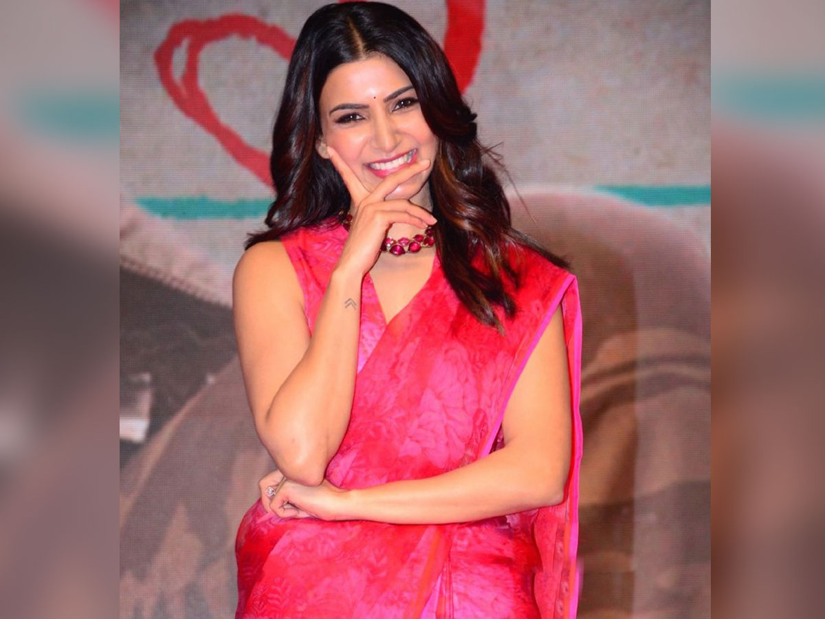 Post lock down Samantha to shift focus on two films