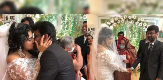 Vanitha Vijayakumar marries the man of her dreams Peter Paul