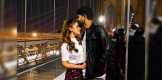 Vignesh Shivan kissing Nayantara
