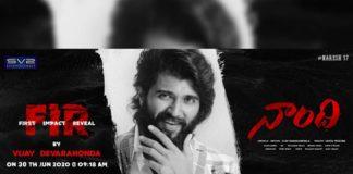 Vijay Deverakonda supports Allari Naresh: Naandhi FIR tomorrow