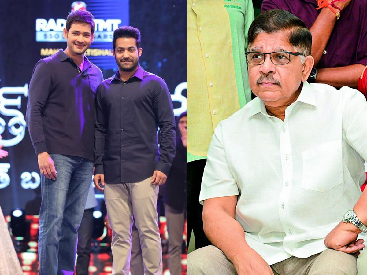 Allu Aravind to bring Mahesh Babu and Jr NTR together for a film