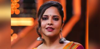 Anasuya occupies Her role