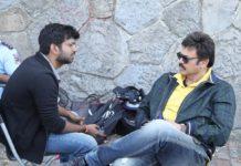 Anil Ravipudi upset with Venkatesh?