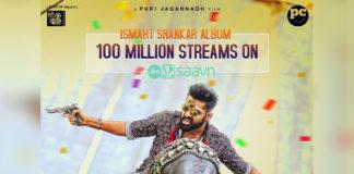 Ismart Shankar Album crosses 100M Streams