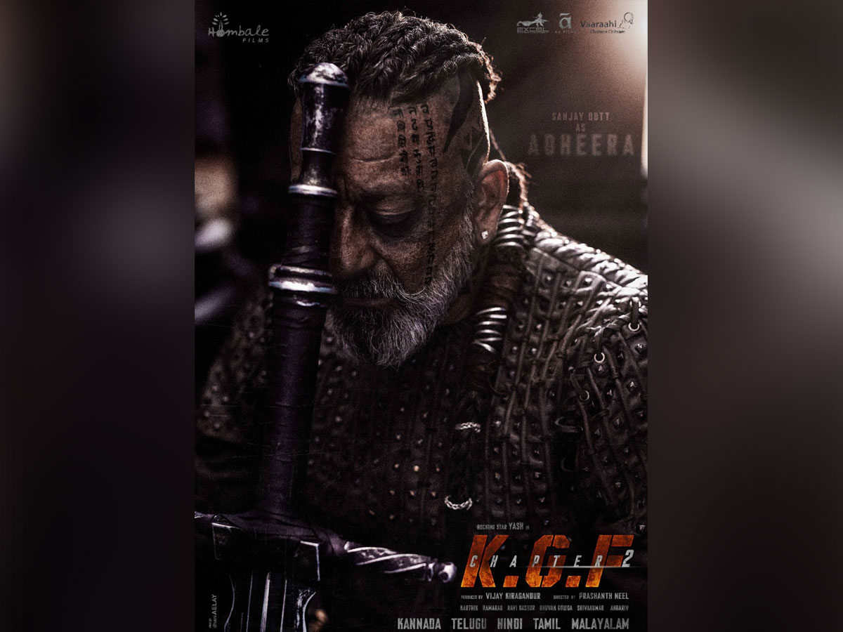KGF :Chapter 2 -Sanjay Dutt as Adheera, Inspired by the brutal ways of the vikings