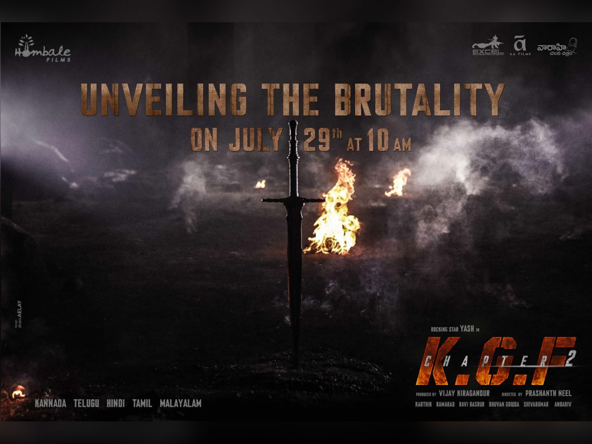 KGF: Chapter 2 Unveiling The Brutality