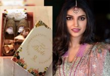 Miheeka Bajaj displays wedding jootis