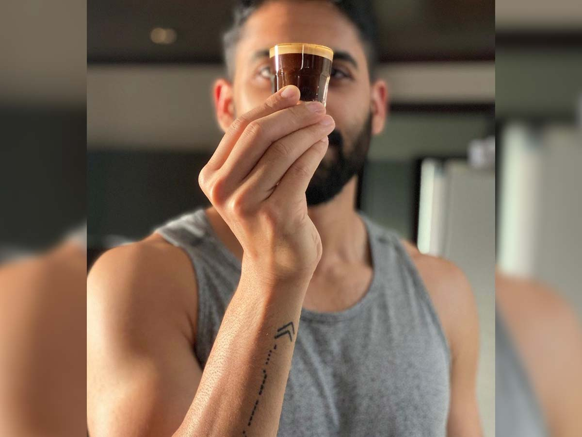 Naga Chaitanya perfect espresso in right balance