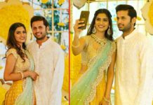 Nithiin and Shalini royal wedding at Taj Falaknuma Palace