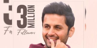 Nithiin hits 3 Million followers on Twitter