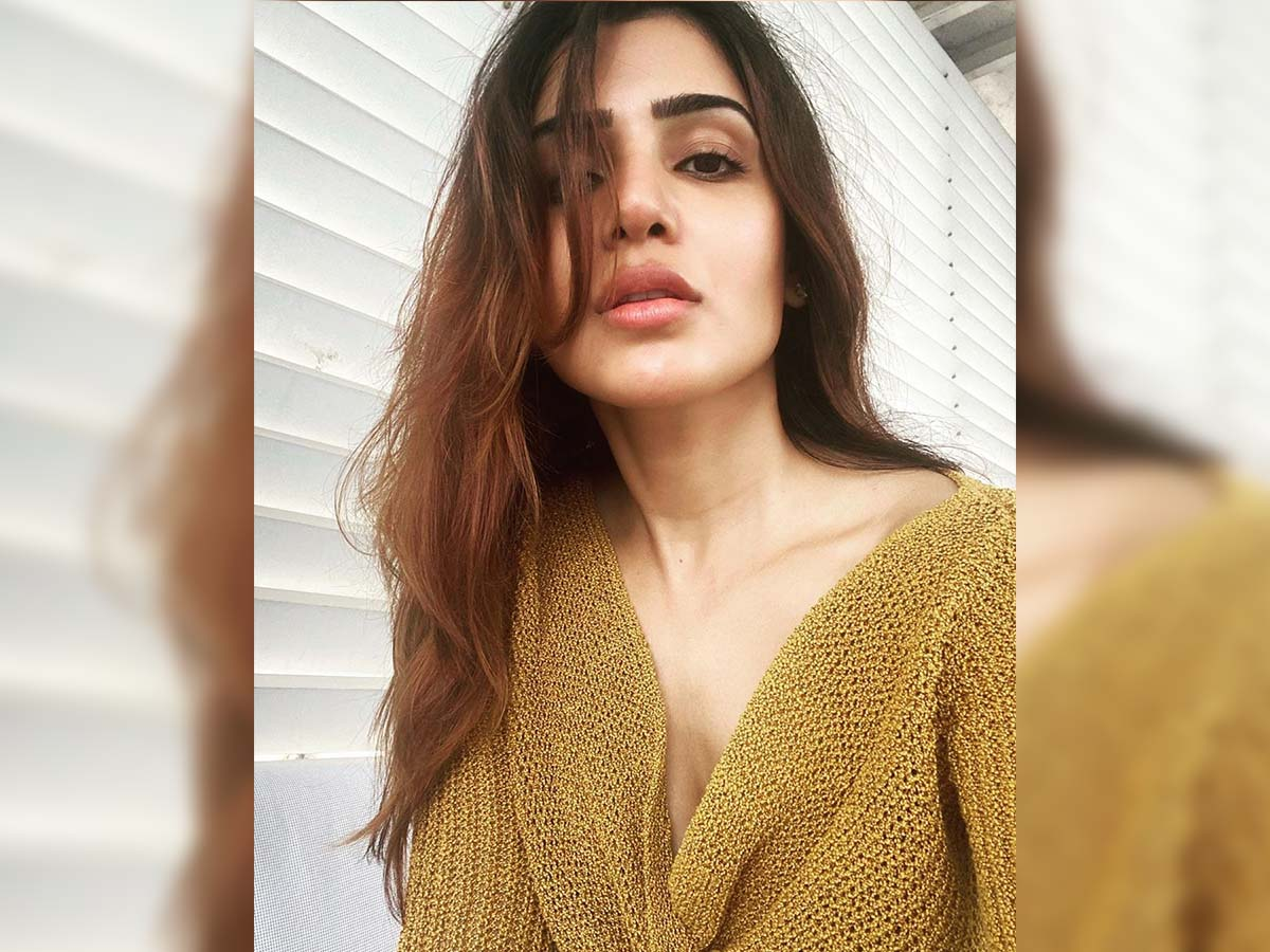 Only option they are finding is Samantha Akkineni