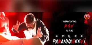 Parannageevi First Look: Kathi Mahesh as Pawan Kalyan fans