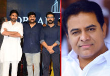 Pawan Kalyan, Chiranjeevi and Ram Charan birthday wishes to KTR
