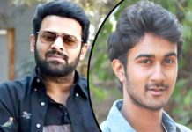 Prabhas doing his bit to support friend son Santosh Sobhan