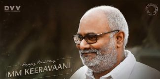 RRR team birthday wishes to Keeravani