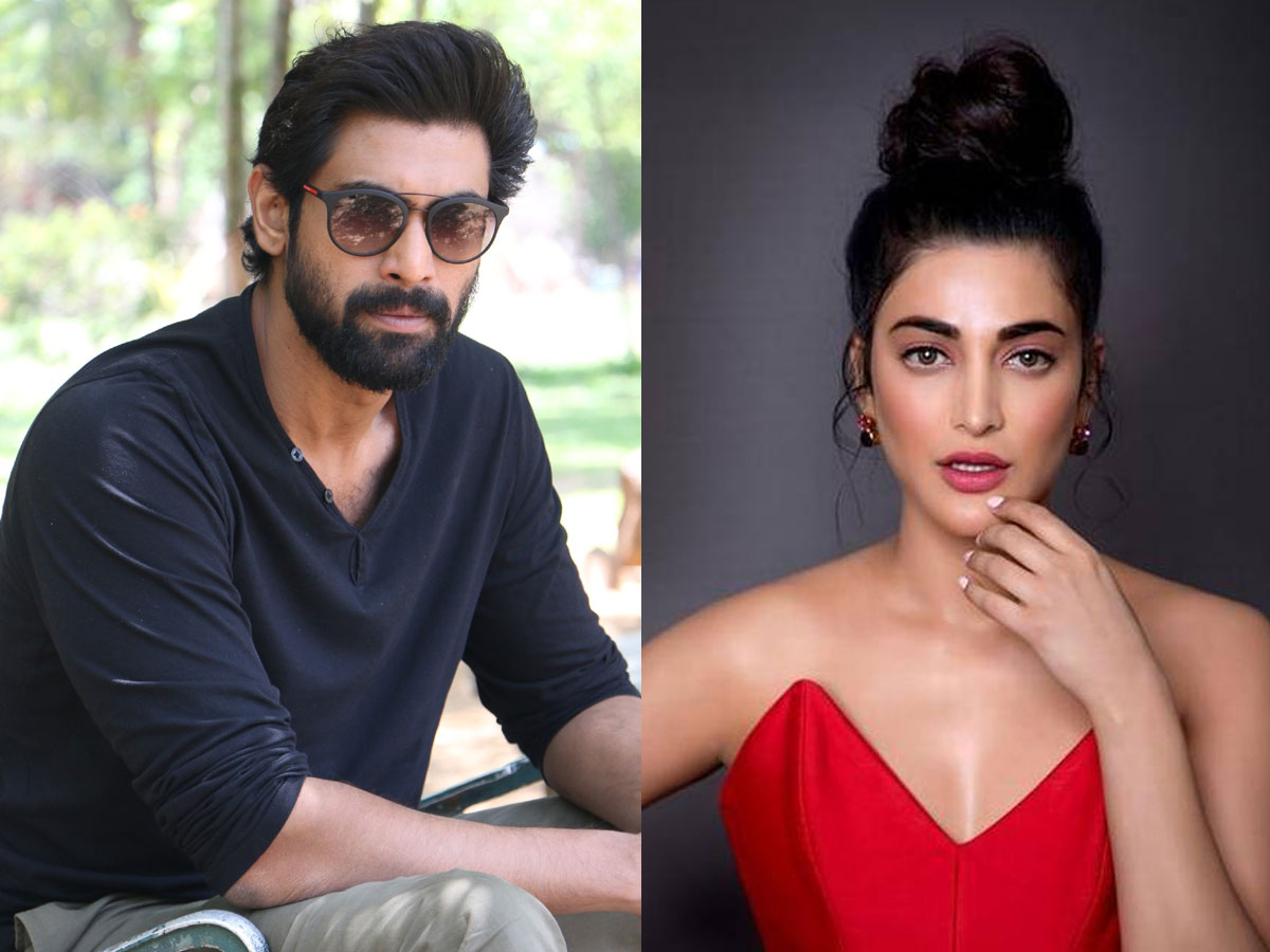 Rana Daggubati: There is more to her than what meets eye with Shruti Haasan