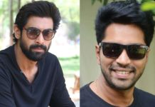 Rana Daggubati with Allari Naresh in Madhu Babu Shadow