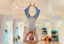 Samantha Akkineni amazes with aerial yoga pose