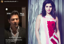 Samantha says, Incredible as mark of appreciation for ShahRukh Khan