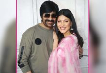 Shruti Hassan's role revealed in Ravi Teja's Krack