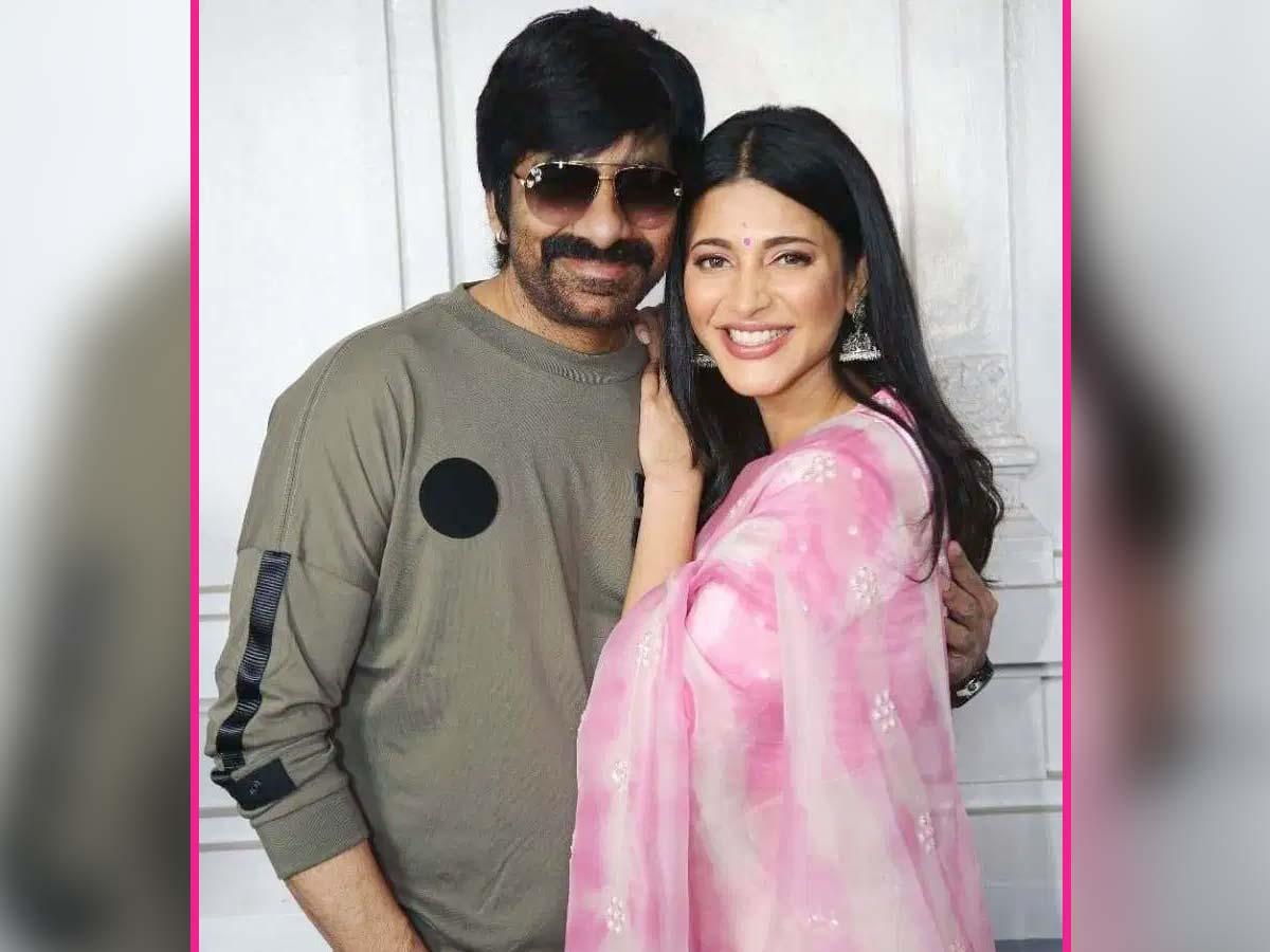 Shruti Hassan's role revealed in Ravi Teja's Krack