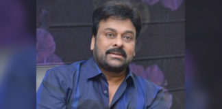 Temple set construction for Chiranjeevi