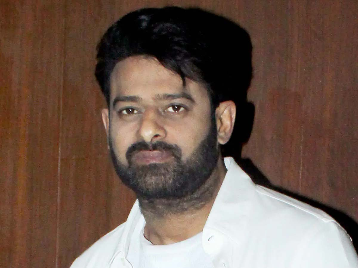 Trade wing not at all happy with Prabhas?