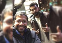 Unforgettable moment! Varun Tej with Venky