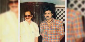 Venkatesh Daggubati with Superstar Krishna