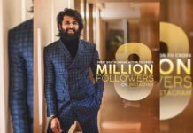 Vijay Deverakonda @ 8 Million Followers on Instagram