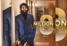 Vijay Deverakonda @ 8 Million Followers on Instagram