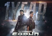 1 year for Saaho
