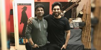 Allu Arjun b'day wishes to music director for most of his film