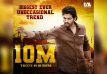 Biggest ever Non-occasional trend for Allu Arjun