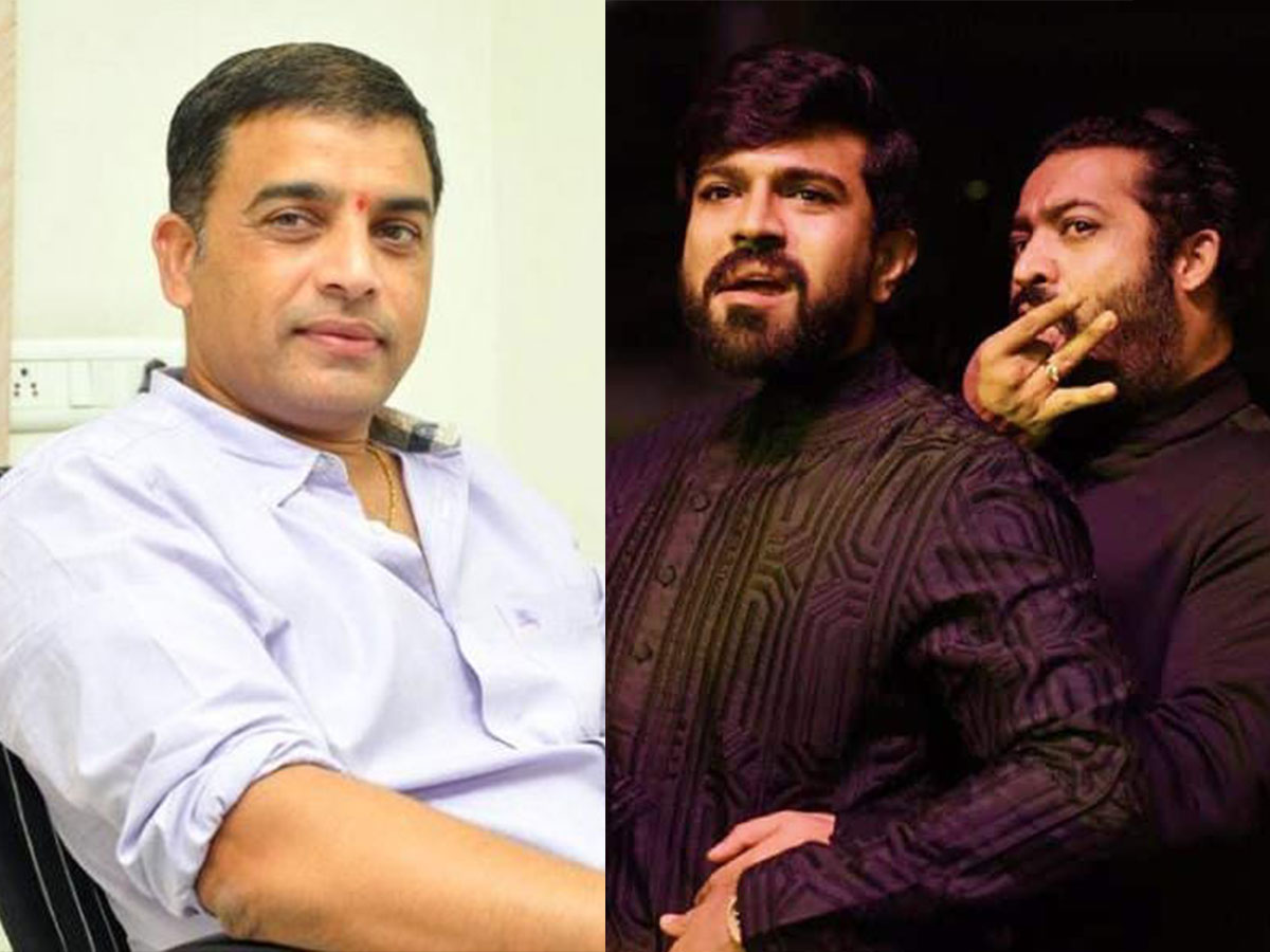Dil Raju decides to bring either Jr NTR or Ram Charan for Icon
