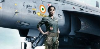 First Look poster of Tejas Kangana Ranaut an Indian Air Force pilot
